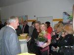 Tanja Bach empfängt ihre Gäste.JPG